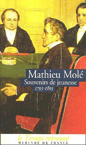 Souvenirs de jeunesse: (1793-1803) (Le Temps retrouvé, format poche)