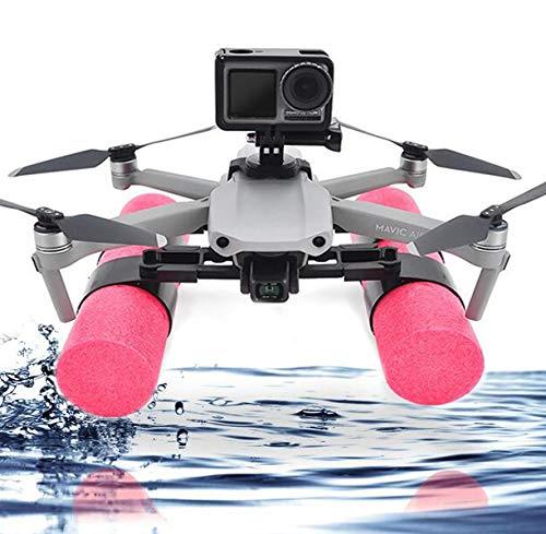 Honbobo Wasserlandung Wasser Schwimmer Fahrwerk Beine für DJI Mavic Air 2, mit Action Camera Connector