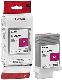 Canon PFI-107M 130ml Ink Tank for iPF680/685/780/785, Magenta