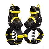 N\C Bounce Shoes Fitness Esercizio per Bambini e Adolescenti Anti-gravità Bounce Boots, per Uso Interno ed Esterno, Scarpe da Rimbalzo S/Giallo