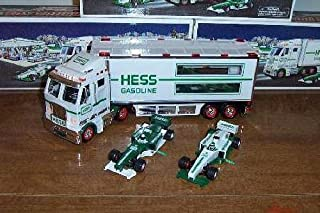 2003 HESS TRUCK & 2 RACECARS