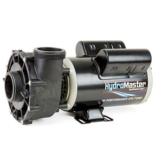 HydroMaster Two-Speed Side Discharge Hot Tub Pump – 48-Frame – 1.5 HP – 120V