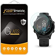 (3 Pack) Supershieldz for Garmin Forerunner 945 Tempered Glass Screen Protector, Anti Scratch, Bubble Free