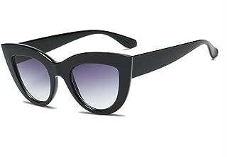 FNNNG mujer, s moda ojo de gato gafas de sol damas teñidas