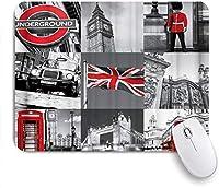マウスパッド イギリスののの2てバス ゲーミング オフィス おしゃれ がい りめゴム ゲーミングなど ノートブックコンピュータマウスマット