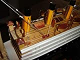 Titanic Wooden Model Cruise Ship 16' Already Built with Minor Assembly Require ' Not a Kit '