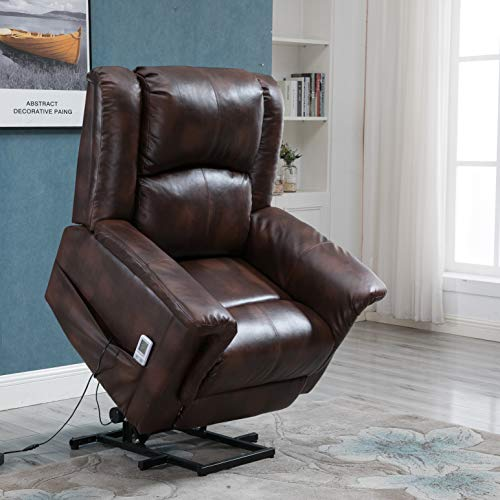 Esright Lift Sofa Recliner PU Leather Multi-Function