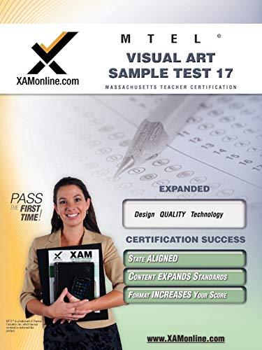 Mtel Visual Art Sample Test 17 Teacher Certification Test Prep Study Guide Xam Mtel
