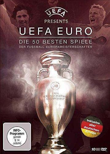 Die 50 besten Spiele der Fußball-Europameisterschaften (10 DVDs)