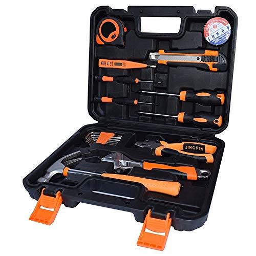ZTH STT-019 Multifunktions-Werkzeugkoffer für den Haushalt, 19-teilig