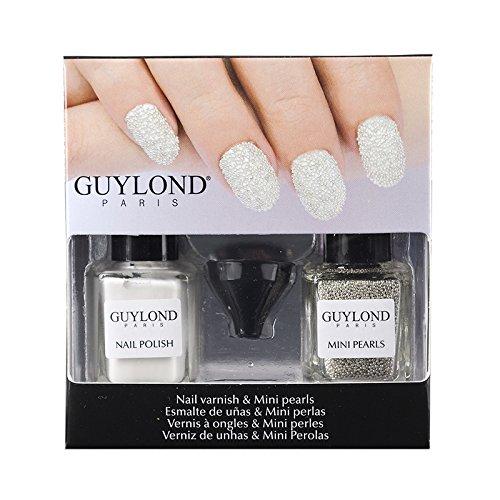 Guylond White Nail Artists and Mini Pearls Set, 1er Pack (1 x 10 ml)