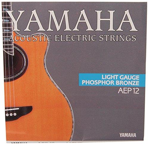 Yamaha AEP12 - Juego de cuerdas para guitarra