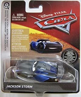 Disney Pixar Cars Die-cast Jackson Storm With PVC Tires Vehicle