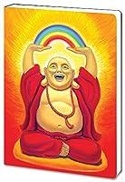 "Laughing Buddhaジャーナルノートブック( 5.5X 7.5"" ) 160裏地付きで書き込みするページ–Inspirational Zenギフトfor Writers、ソフトカバー、88492tree-free Greetings"