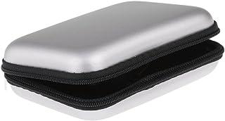 Dovewill  ポータブル 2.5インチ ハードディスクドライブバッグ HDD保管ケース 全5色 - シルバー