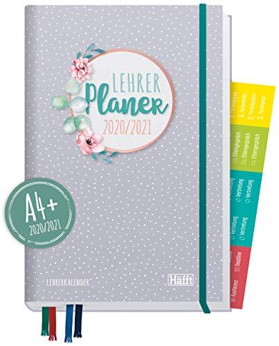 Lehrer-Planer 2020/2021 A4+ [Dotty] Hardcover Lehrerkalender Schuljahresplaner mit Sprüchen, Stickern und nützlichen Features - smart & gut gelaunt das Schuljahr planen | nachhaltig & klimaneutral
