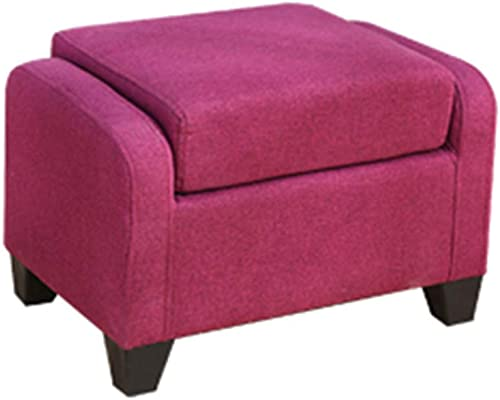 Canapé Tabouret Creative Fashion Personnalité Lazy Salon Petit Appartement Assis Simple Simple Tabouret Court Home Adulte ZHANGAIZHEN (Couleur   violet)