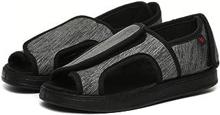 B/H Scarpa Unisex per la Salute degli Adulti,Calzature Regolabili per Il Piede diabetico, Caviglia deformata con Piede def...