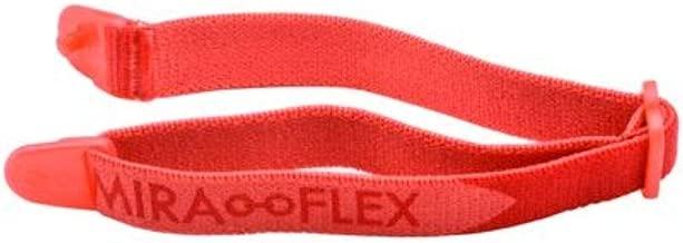 Miraflex Replacement Straps Eyeglasses Medium Adjustable Elastic (Red)