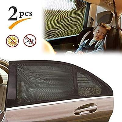 Frozen Blocks Harmful UV Rays Sun Glare Heat Protection for Your Kids 2 x Car Window Sun Shades Universal Baby Car Sunshades
