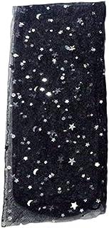 forbestest, Muchachas de las mujeres de acrílico del brillo elegantes estrellas de malla fina Sheer calcetines transparentes del tobillo gasa Medias