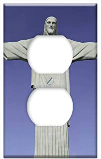 Switch Plate Outlet Cover - Christ The Redeemer Statue Rio Brazil Rio De Janeiro