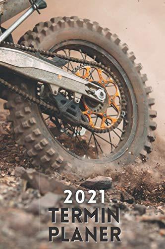 Terminplaner 2021 motocross: motocross kalender 2021 - wochenplaner 2021 - Wochenkalender von Januar bis Dezember 2021 - 1 woche 2 seiten - ... - geschenke für motorradfahrer männer frauen