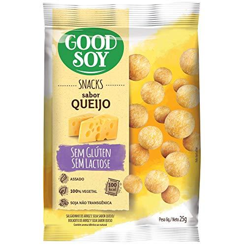 Snack GoodSoy Queijo – Sem glúten, sem lactose - Snack Saudável – 25g