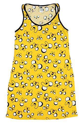 Adventure Time - Pijama - para mujer amarillo amarillo mostaza Large