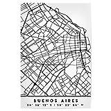artboxONE Poster 30x20 cm Schwarzweiß Buenos Aires