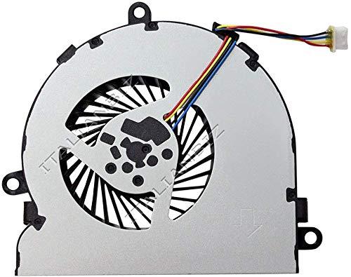 Ventilador CPU Ventilador Compatible para hp 15-bs156ns 15-bs157ns 15-bs198ns...
