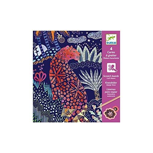 Djeco Graffi di Natura, Multicolore, DJ09728