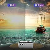 Zoom IMG-1 proiettore portatile nativo 1080p 7500