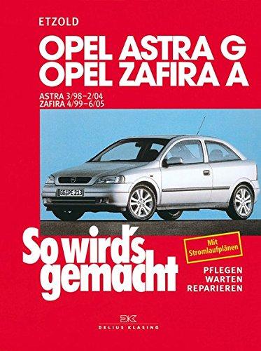 Opel Astra G 3/98 bis 2/04: Opel Zafira A 4/99 bis 6/05, So wird's gemacht - Band 113