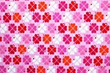 Jersey Klee byGraziela rosa/bunt | 1,55 Meter breit | wird