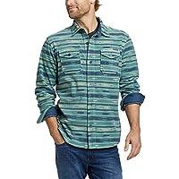 Eddie Bauer Men's Chutes Microfleece Shirt (Dusty Aqua)