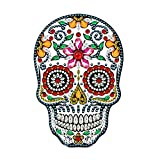 LED Diamond Painting Lamp,DIY Special Shaped Beads, New Design Night Light Cross Stitch Embroidery Mosaic Kit, Home Decoration Lamp with Tools and USB Cable (Skull) 9.8x13.8in 1 Pack by Tangbr