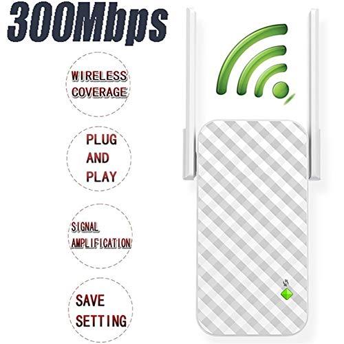 Wifi repeater versterker signaal WiFi extender 300M versterker signaal draadloze router WiFi extender range extender 2 externe antenne eenvoudige configuratie booster en draadloze repeater