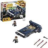 LEGO Star Wars - Speeder Terrestre de Han Solo, Juguete de La Guerra de las Galaxias para Construir y Recrear Aventuras, Incluye Minifigura de Han Solo y Muñeco de un Perro de Caza Corelliano (75209)