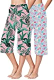 Pack of 2 Capris. Ideal for loungewear and leisure wear. Fabric:100% Cotton with moisture wicking that keeps you cool and dry. Fitting Type: Regular Fit. Comfortable soft elastic waistband and soft hosiery fabric. Superior enzyme finish for extra so...