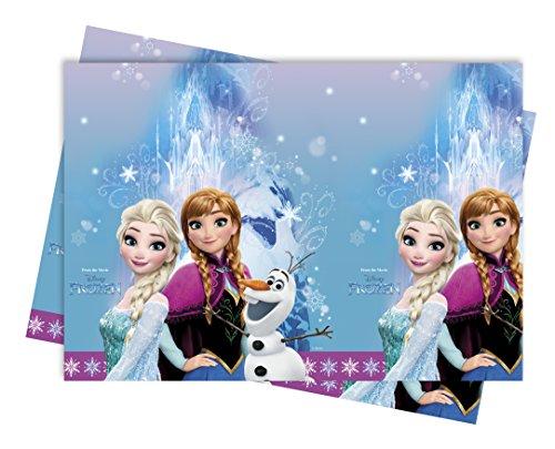Disney 1 Tischdecke * Frozen Northern Lights Kindergeburtstag oder Motto-Party // Party Table Cover Motto Eiskönigin Frozen Olaf ELSA Anna