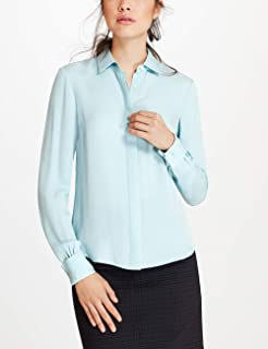 Brooks Brothers Women's Silk Geogrette French Shirt