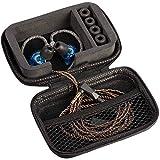 in Ear Monitor Case for IEM, in Ear Monitors, in Ears, Headphones, Earphones, Earbuds. Suitable for KZ ZS10/ZS10 Pro/ZSN/ZST/AS10/AS16, GIGCASE (Black)