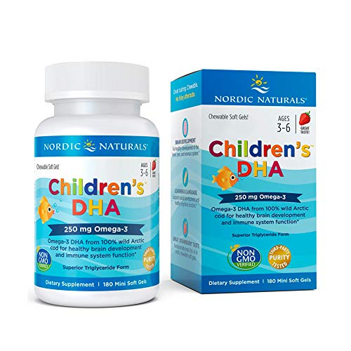 Nordic Naturals Children's DHA Strawberry 180 Ct