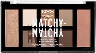 لوحة الوان ماتشي ماتشي احادية اللون من ان واي اكس بروفيشنال ميك اب - لون بني داكن 01