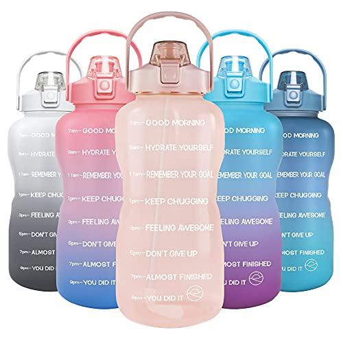 GOSWAG 128oz Water Bottle, Lotus
