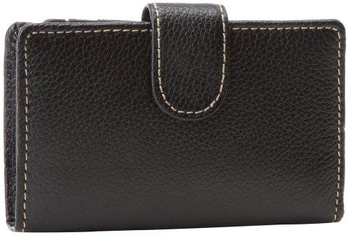 Mundi Rio Leather Frame Index Wallet,Black,one size