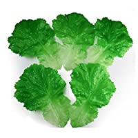 GuCra 野菜模型 レタス 青菜 5枚パック 食品サンプル