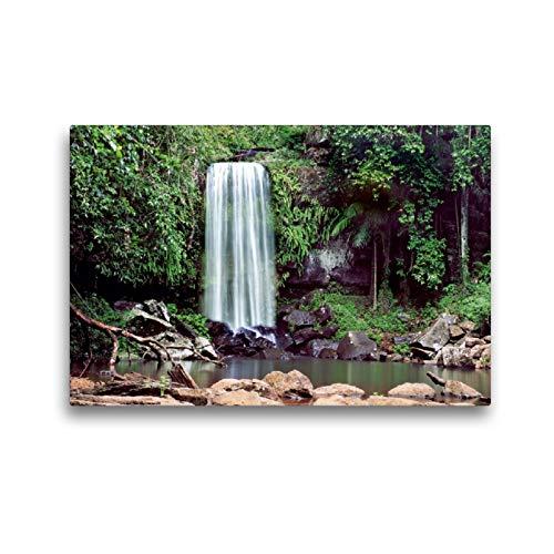 Premium Textil-Leinwand 45 x 30 cm Quer-Format Curtis Falls, Tamburine Mountain, Queensland | Wandbild, HD-Bild auf Keilrahmen, Fertigbild auf hochwertigem Vlies, Leinwanddruck von Andrea Redecker