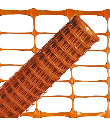 WOLFPACK LINEA PROFESIONAL 1190070 Tela Balizamiento Naranja 1,0 Rollo 50 Metros